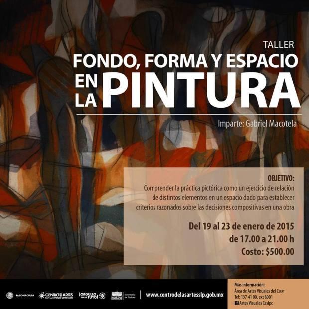 Fondo, forma y espacio en la pintura / Gabriel Macotela @ Centro de las Artes de San Luis Potosí