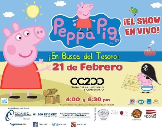Peppa Pig en San Luis Potosí @ Centro Cultural Universitario Bicentenario | San Luis Potosí | San Luis Potosí | México