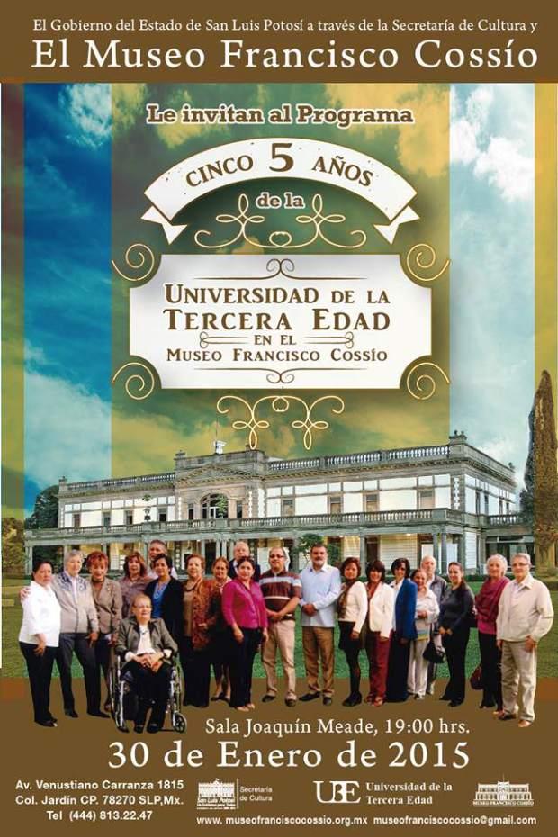 Cinco años de la Universidad de la Tercera Edad @ Museo Francisco Cossío