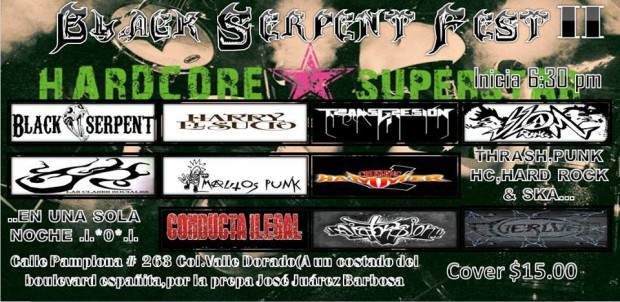Black Serpent Fest II