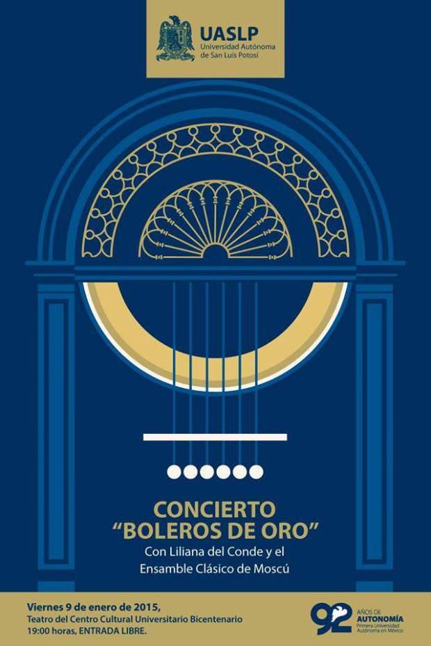 Concierto Boleros de Oro @ Centro Cultural Universitario Bicentenario | San Luis Potosí | San Luis Potosí | Mexico