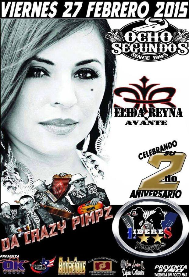 Elida Reyna y Avante /Da Crazy Pimpz @ 8 Segundos