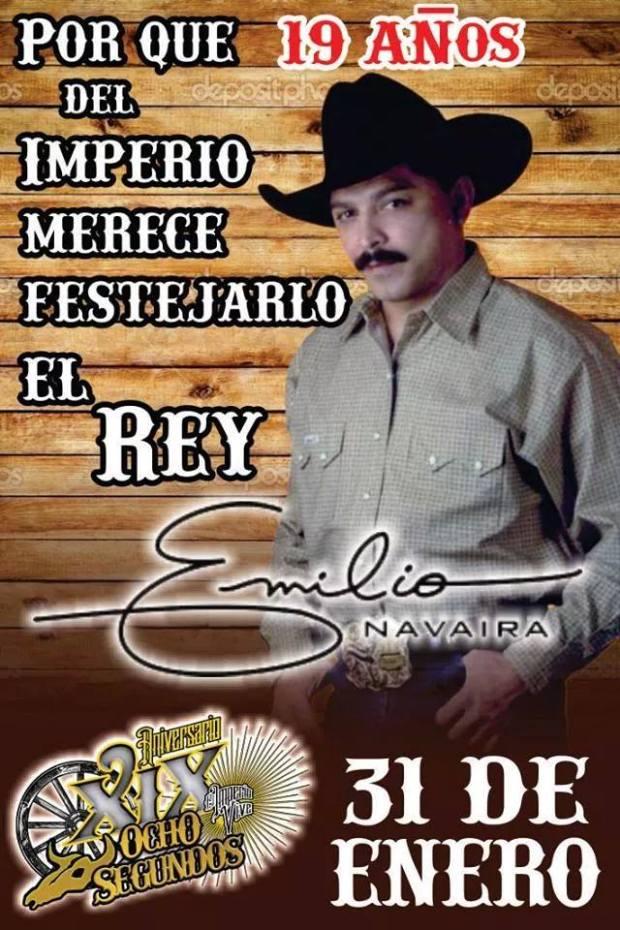 Emilio Navaira en el aniversario de 8 Segundos @ 8 Segundos | San Luis Potosí | San Luis Potosí | México