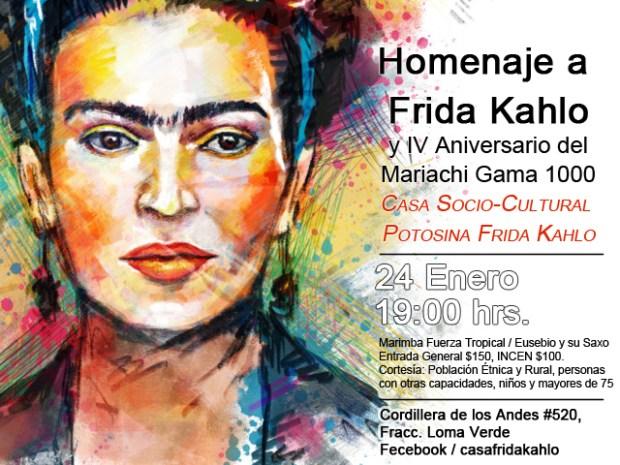 Homenaje a Frida Kahlo