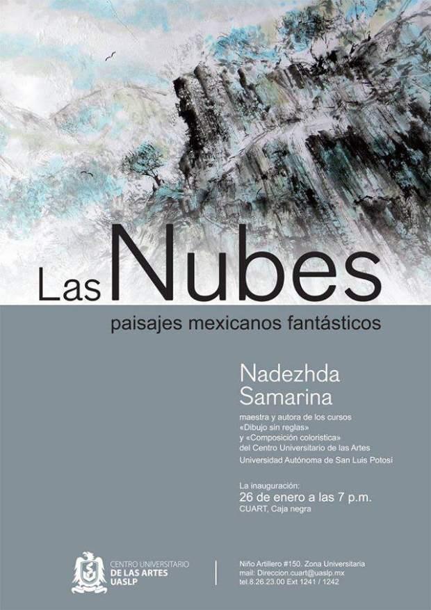 Las nubes y paisajes mexicanos: Nadezhda Samarina @ CUART | San Luis Potosí | San Luis Potosí | México
