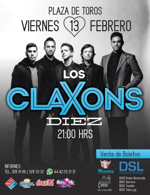 Los Claxons en San Luis Potosí @ Plaza de Toros el Paseo  | San Luis Potosí | San Luis Potosí | México