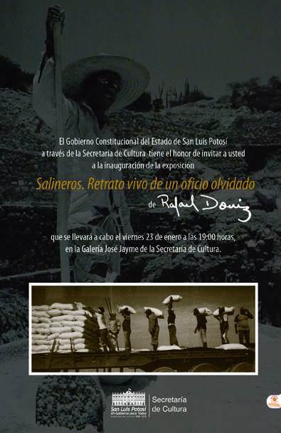 Salineros: retrato vivo de un oficio olvidado @ Galería José Jaime  | San Luis Potosí | San Luis Potosí | México