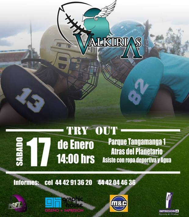 Valkirias Try Out @ Parque Tangamanga I | San Luis Potosí | San Luis Potosí | México