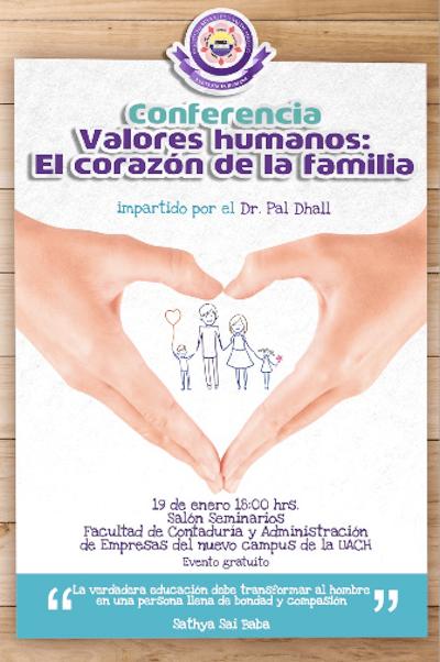 Valores humanos el corazón de la familia