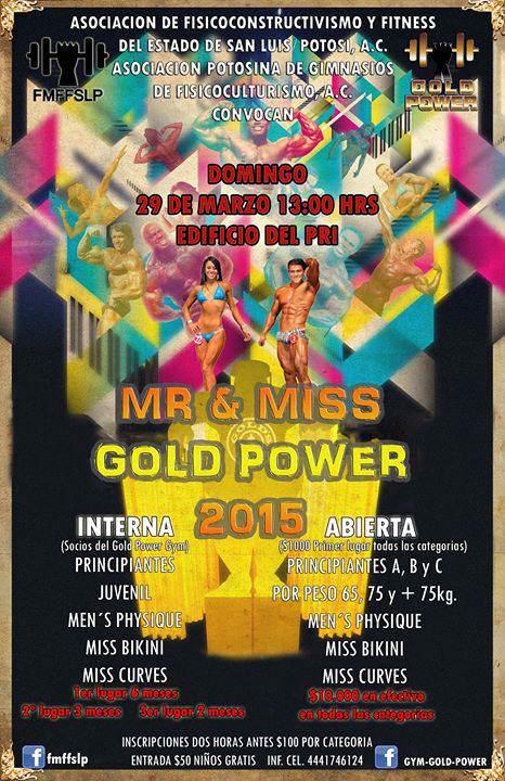 mr y miss power gold 2015