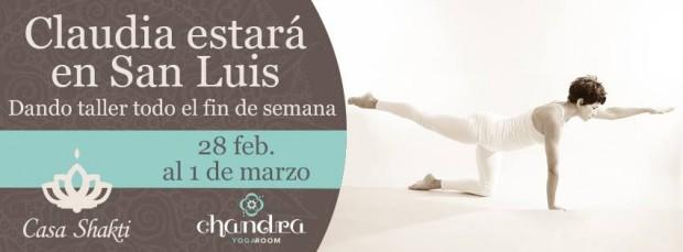 Clauda Gonzalez Yoga SLP