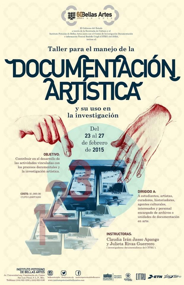 taller documentación artistica