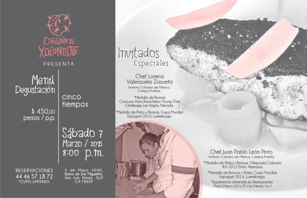 Cena Gourmet Corazón de Xoconostle 3a. Edición @ Corazón de Xoconostle | San Luis Potosí | San Luis Potosí | México