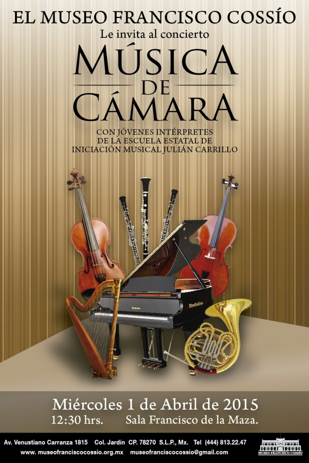 Concierto de cámara Julián Carrillo