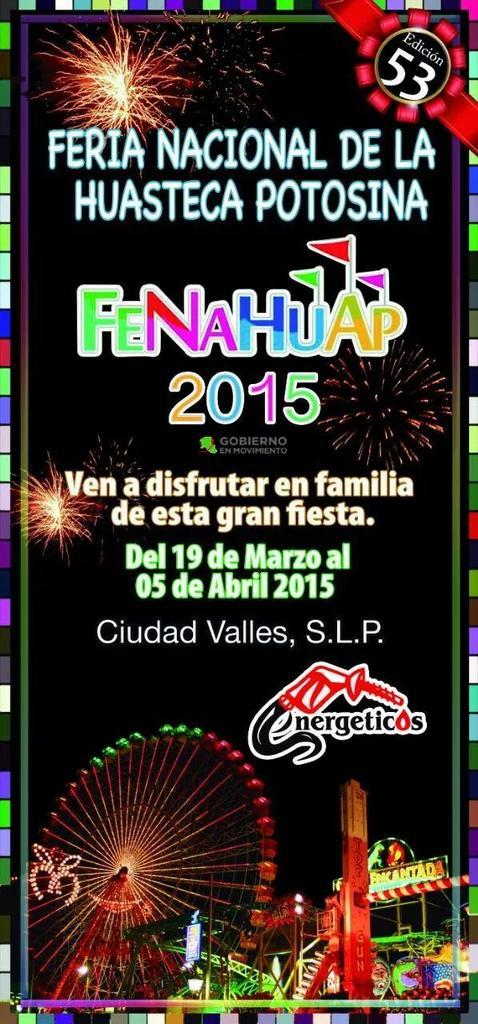 FENAHUAP 2015 @ Ciudad Valles | San Luis Potosí | México