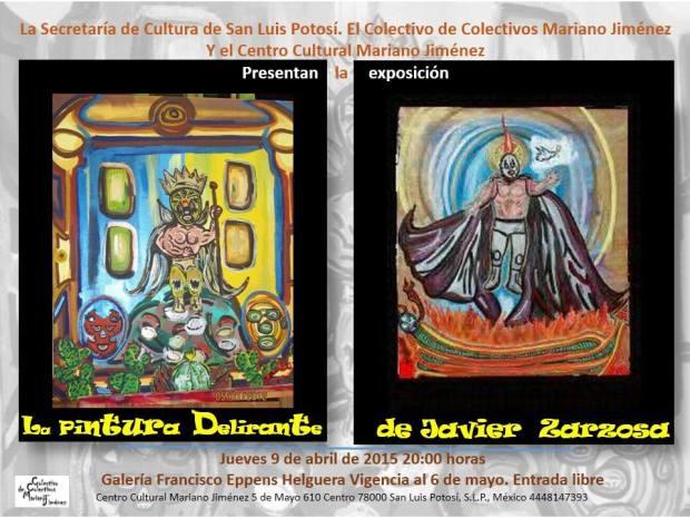 La pintura delirarante de Javier Zarzosa @ Centro Cultural Mariano Jiménez | San Luis Potosí | San Luis Potosí | México