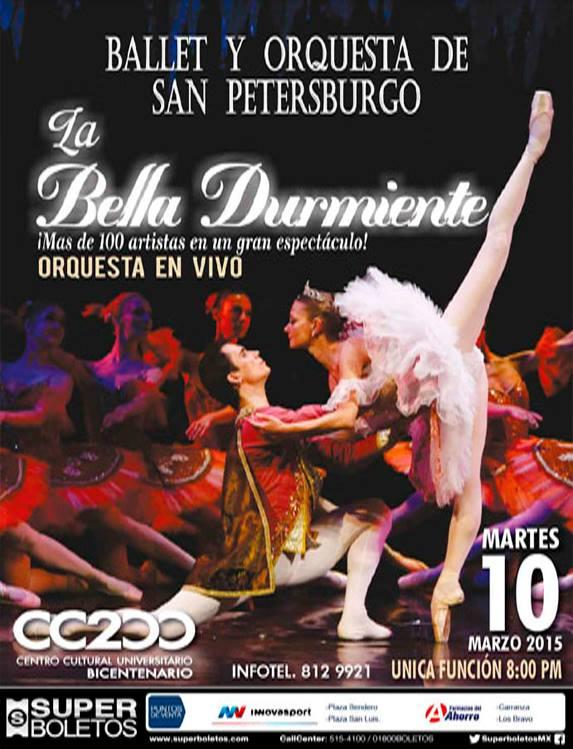 La Bellas Durmiente @ Centro Cultural Universitario Bicentenario