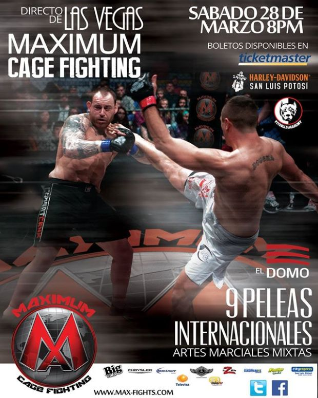 Maximum Cage Fighting en San Luis Potosí @ El Domo