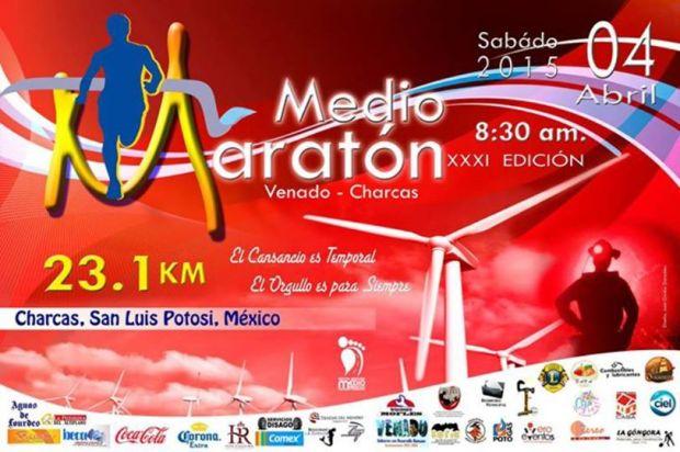 Medio Maratón Venado-Charcas 2015 @ Charcas | Charcas | San Luis Potosí | México