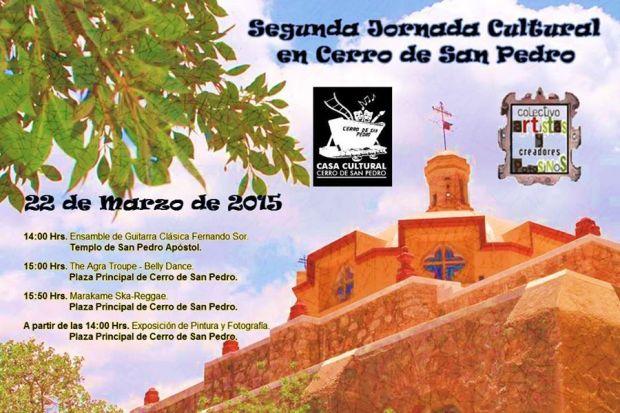 Segunda Jornada Cultural en Cerro de San Pedro