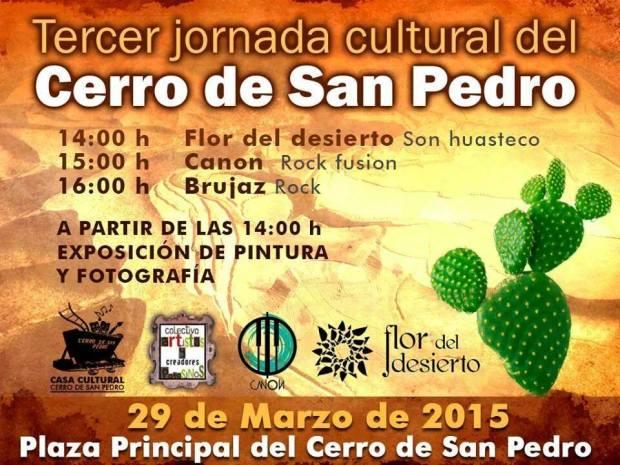 Tercer jornada cultural del Cerro de San Pedro @ Cerro de San Pedro | Cerro de San Pedro | San Luis Potosí | México