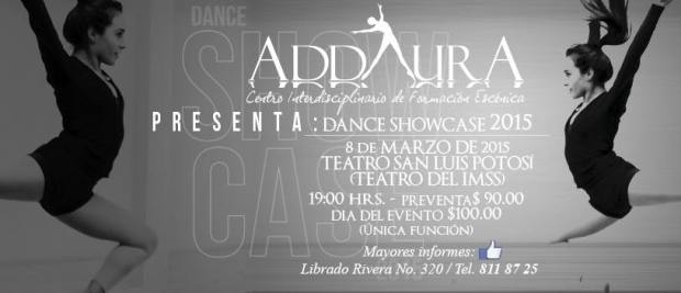 Addaura Dance Show Case 2015 @ Teatro del IMSS