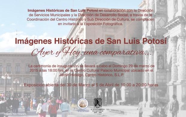 """Exposición Fotográfica """"Ayer y hoy, Una comparativa"""" @ Centro Cultural Palacio Municipal"""