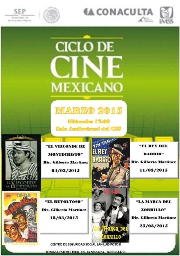 Ciclo de Cine Mexicano 2015 @ Teatro del IMSS