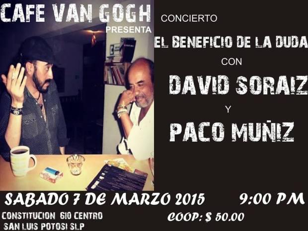 Concierto El Beneficio de la Duda @ Café Van Gogh