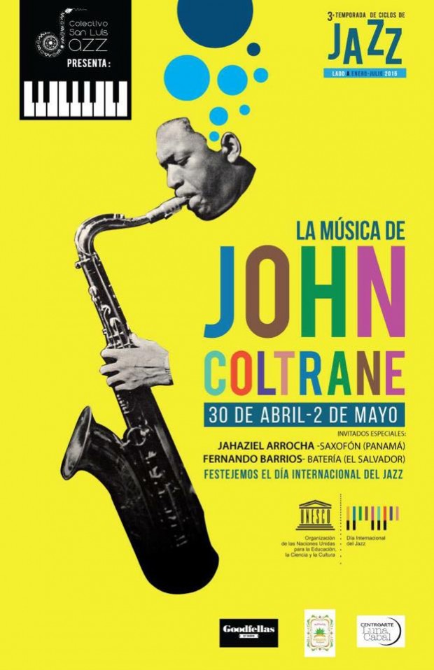 3 ciclo de musica jazz john coltrane