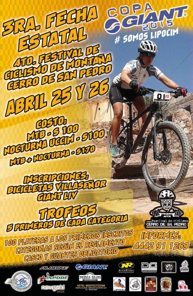 4to Festival de Cicilismo de Montaña Tercera fecha estatal @ Cerro de San Pedro | Cerro de San Pedro | San Luis Potosí | México