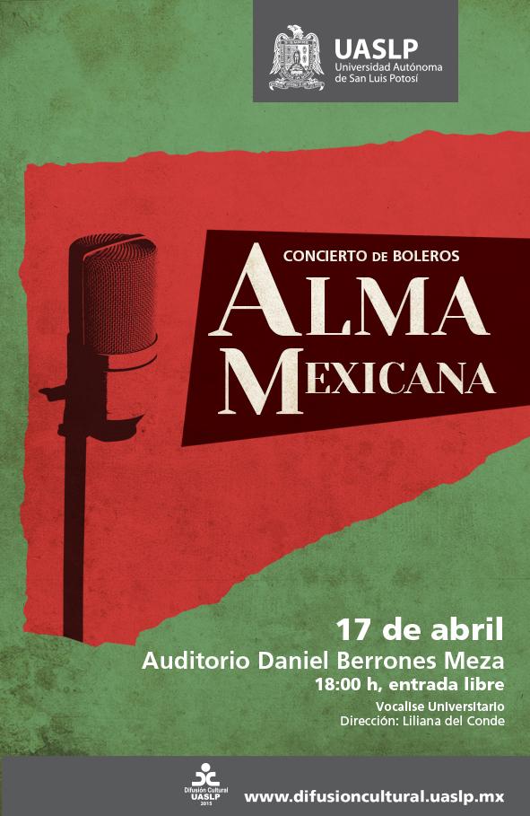Concierto de Boleros Alma Mexicana @ Auditorio Daniel Berrones Meza
