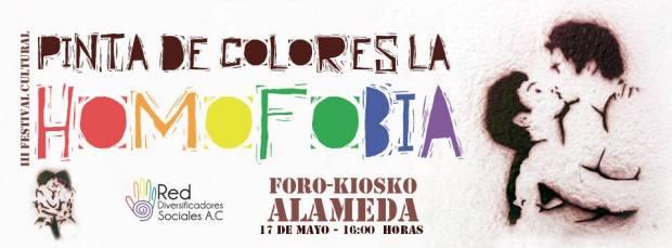 III Festival cultural  Pinta de Colores la Homofobia