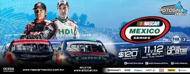 Nascar México Pro Series 2015 en San Luis Potosí @ Super Ovalo Potosino