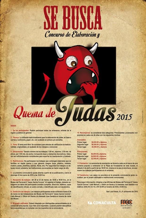 Quema de Judas 2015