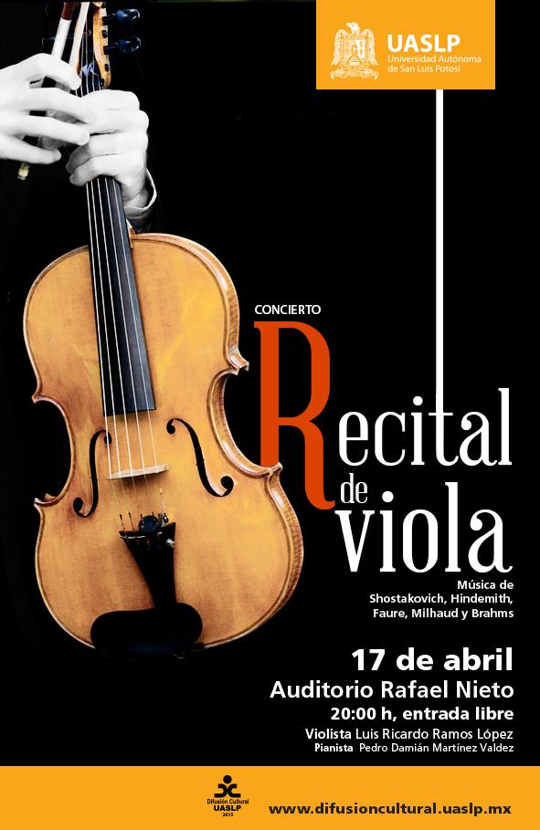 Recital de Viola