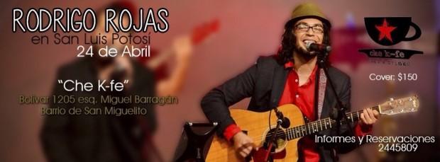 Rodrigo Rojas en San Luis Potosí