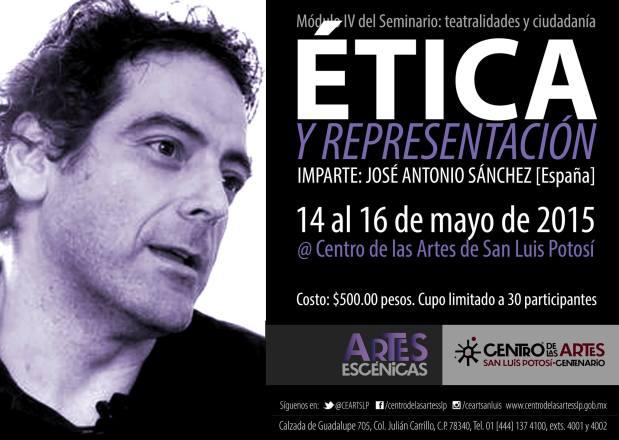 Seminario Teatralidades y ciudadanía: Módulo IV @ Centro de las Artes de San Luis Potosí | San Luis Potosí | San Luis Potosí | México