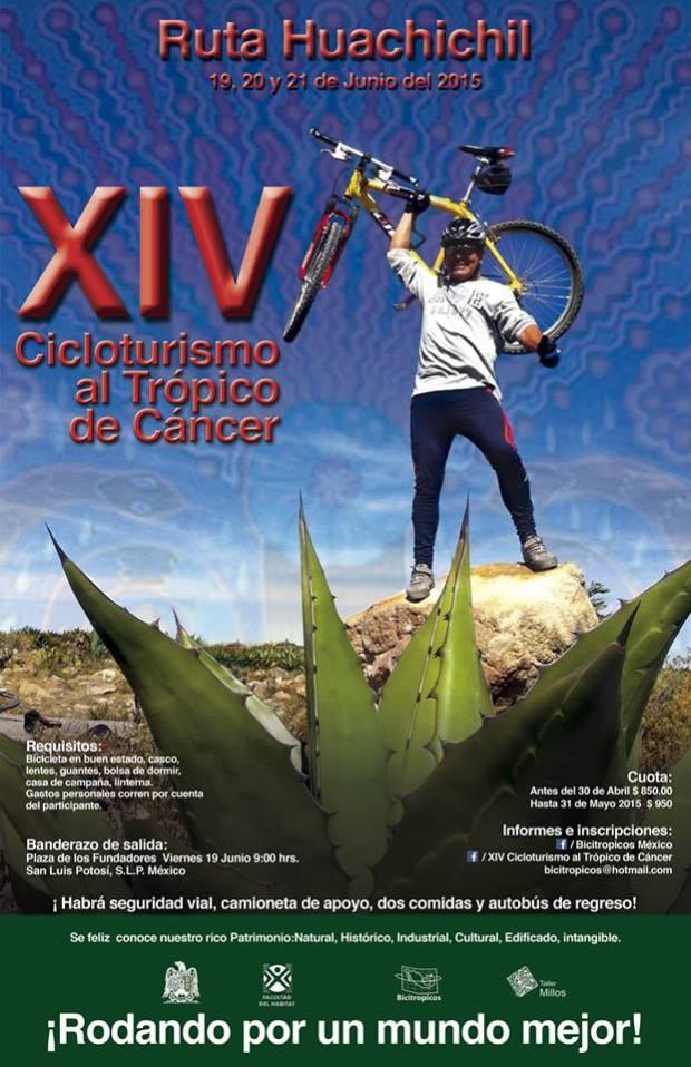XIV Cicloturismo al Trópico de Cáncer @ San Luis Potosí | San Luis Potosí | San Luis Potosí | México