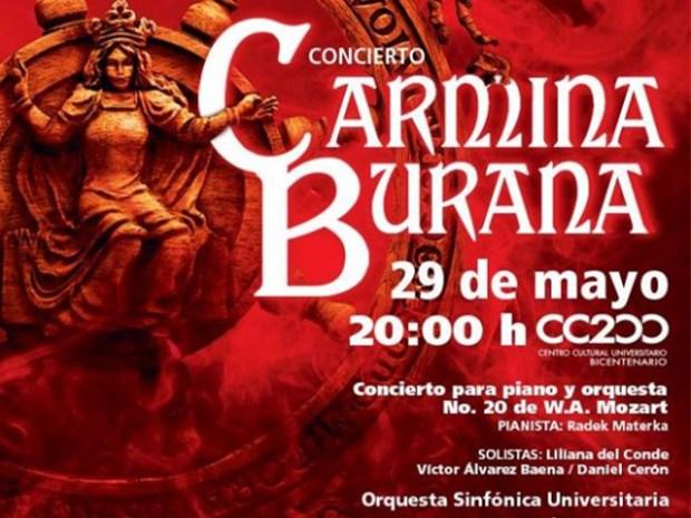 Concierto Camina Burana @ Centro Cultural Universitario Bicentenario | San Luis Potosí | San Luis Potosí | México
