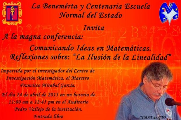 Comunicando Ideas en Matemáticas (Conferencia) @ BECENE | San Luis Potosí | San Luis Potosí | México