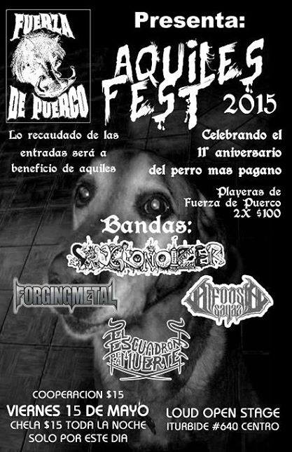 Aquiles Fest 2015 @ Loud Open Stage
