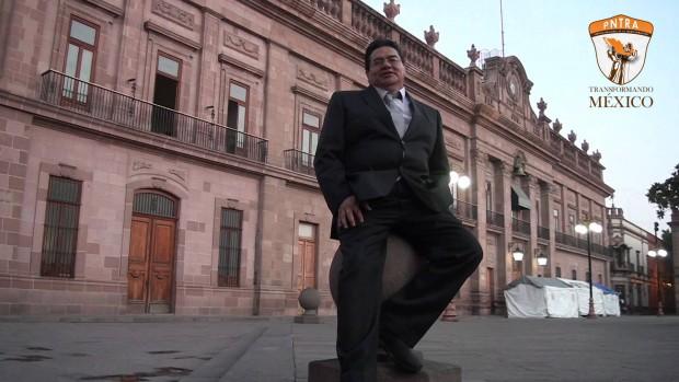 """""""Que robe la gente"""" candidato a la gobernatura de San Luis Potosí"""