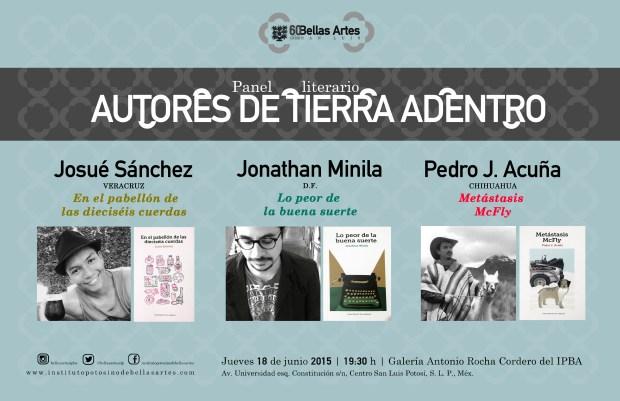 Autores de Tierra Dentro - 60 Años IPBA @ Instituto Potosino de Bellas Artes