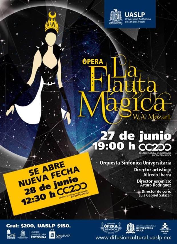 """Ópera """"La Flauta Mágica"""" @ Centro Cultural Universitario Bicentenario"""