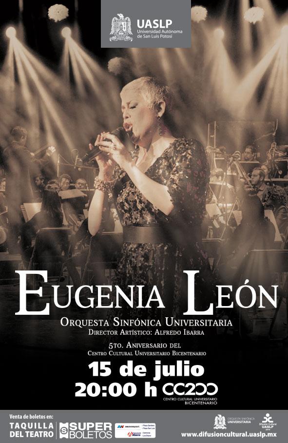 Eugenia León en el CC200