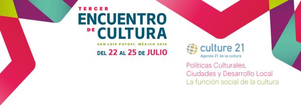 Tercer Encuentro de Cultura San Luis Potosí @ San Luis Potosí  | San Luis Potosí | San Luis Potosí | México