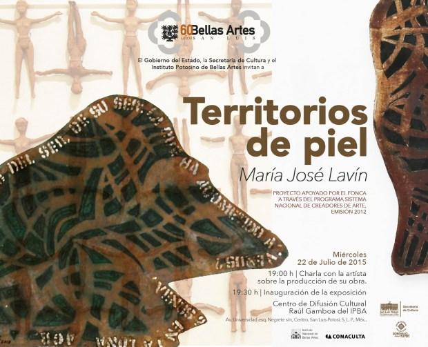 """Exposición """"Territorios del piel"""" de María José Lavín @ Centro de Difusión Cultural Raúl Gamboa"""