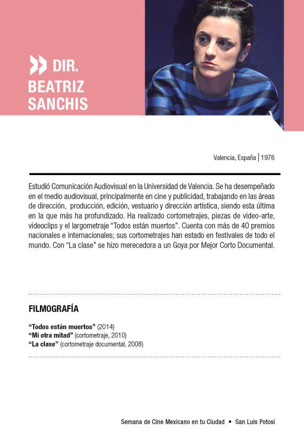Beatriz Sanchis