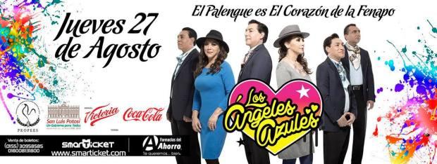 Los Ángeles Azules en la FENAPO 2015 @ Palenque de la Fenapo